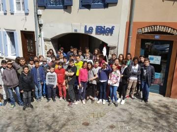 Ateliers sérigraphie au centre culturel Le Bief à Ambert