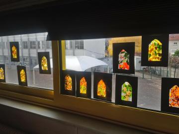 Création de vitraux