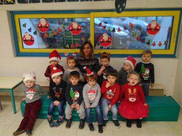Journée «Pull de Noel» en classe de TPS et PS/MS