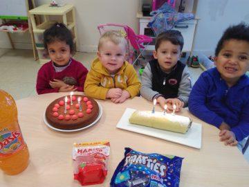 «Les premiers anniversaires en classe de TPS»
